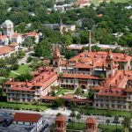 Hotel Ponce de Leon and Residence Hall (aerial view), Flagler College
